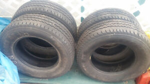truck tires for sale 245/70/17 Prince George British Columbia image 1