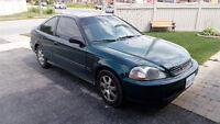 1998 Honda Civic Coupe (2 door) just etest and cert!