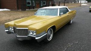 Cadillac décapotable / convertible 1970