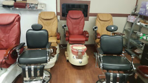 Manicure, Pedicure, Nail Salon Chairs, Barber Chairs and MORE!