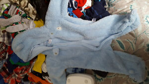 Baby carter's soft snow suit
