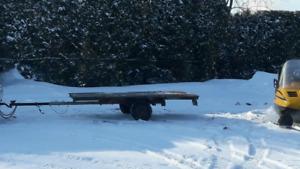 Trailer pour ski doo ou quad a vendre