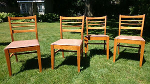 Wooden Krug Chairs