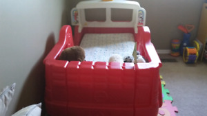 Step 2 Fire truck Toddler Bed + OTHER