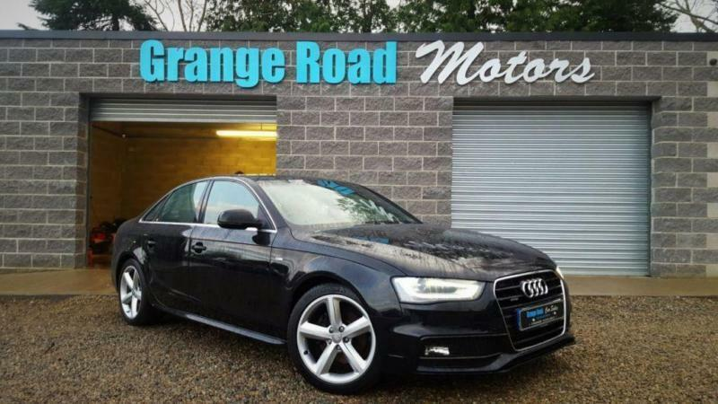2013 62 audi a4 2 0 tdi quattro s line 4d 174 bhp diesel. Black Bedroom Furniture Sets. Home Design Ideas