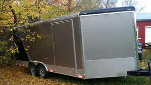 2016 Cargo Mate Enclosed Car Hauler 18' or 22' with Vnose