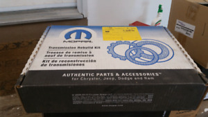 45re service kit and shift solenoid service upgrade kit.