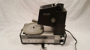 Vintage Portable Record Player Phonograph Slide Projector DuKane