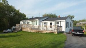 Well priced Bungalow in Sackville, Double Detached Garage!