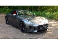 2017 Jaguar F-TYPE 5.0 Supercharged V8 R 2dr Auto Automatic Petrol Convertible