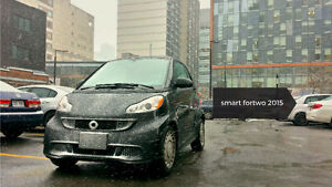 2015 Smart Fortwo Pure Coupé (2 door) for rent via TURO