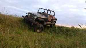 87 jeep yj mud truck