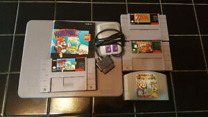 Uncommon SNES/N64 Game Lot