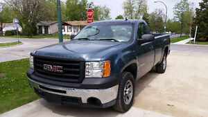 2010 GMC Sierra 1500 REG/CAB LONG BOX ***SAFETIED***