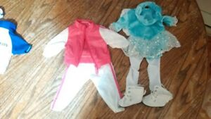 """18"""" doll clothes (skating outfit or soccer outfit)"""