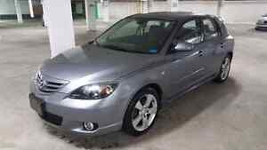 2004 MAZDA 3 GT E-TESTED  AUTOMATIC FIRST OWNER WITH ONLY 190K.