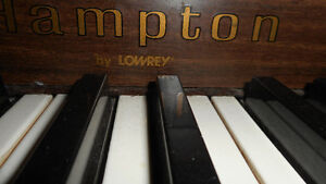 Hampton by Lowrey Piano  $500.00 or best offfer