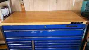 Snap On wooden work surface for KRL 7022 roll cab     Stratford Kitchener Area image 3