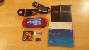 CONSOLE PSP ROUGE RED