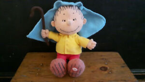 Talking Linus from Charlie Brown Soft Plush Doll