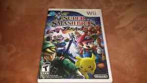 FOR SALE. SMASH BROS BRAWL Wii GAME STILL AVAILABLE.