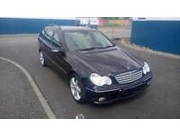 "MERCEDES-BENZ C CLASS 1.8 C180 KOMPRESSOR SPORT EDITION 5 DOOR 2006 ""56"" REG"