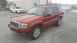2004 Jeep Grand Cherokee LIMITED *** LOADED 4X4 *** CERT $4995