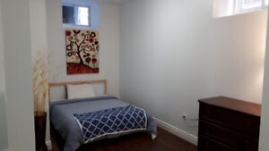 GORGEOUS SEMI FURNISHED ONE BEDROOM APARTMENT @ BLOOR & JANE!