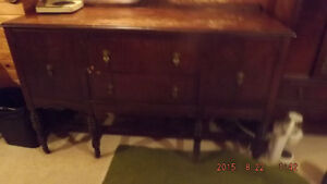Dining Room Table ,   Chairs , Buffet  and China Cabinet