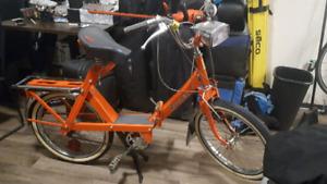 Vintage Pli-Solex 5000 folding moped