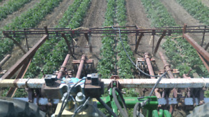 Vegetable and irrigation equipment