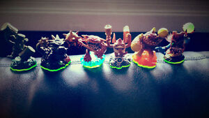 Skylander Figurines + Game and Portal