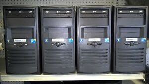 Core2duo E8400 3.0ghz, 500g hdd, 8g ram, dvd, win 7 ou 10 pro