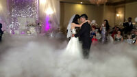 Wedding, Dry ice Machine, Dry ice, Bubble Machine & Snow  Watch