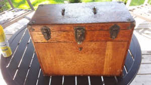 Antique Hollowell Cabinet with Tools