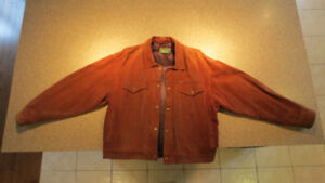 Manteau de cuir de vache – Style Levis