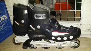 Mens ROCES Rollerblades used ONCE size 15