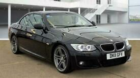 image for BMW 3 Series 2.0 320d M Sport 2dr Convertible Diesel Manual