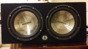 12 inch subwoofer box Insignia speakers