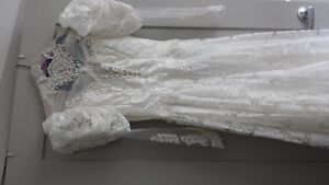 Wedding dress / train / vail