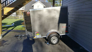 4x7 utility trailer for detailing, window cleaning, or pressure