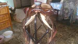 For sale 3 different western saddles Prince George British Columbia image 6