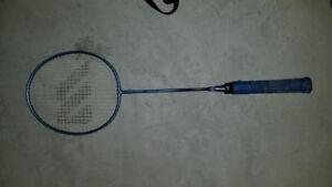 Badminton and Squash rackets