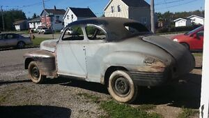1941 pontiac businessmans coupe  3500. obo