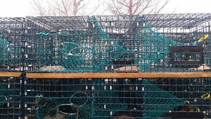 122  4ft. American Wire Lobster Traps