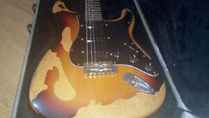Fender stratocaster relic  80's