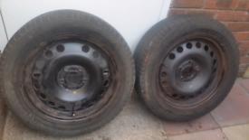 X2 vauxhall 5 stud wheels
