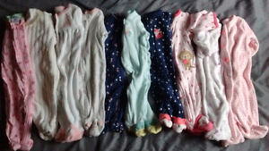 Girl's Newborn Sleepers