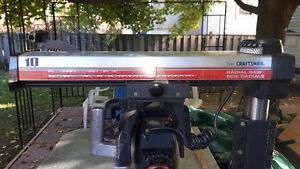 Sears Craftsman 10' Radial Table saw
