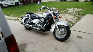 06 Honda Shadow Aero touring